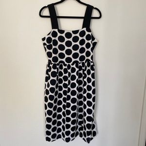 Who What Wear Polka Dot Dress